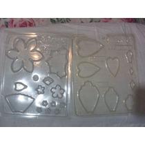 Moldes Flores Para Porcelana Fria - Pastas
