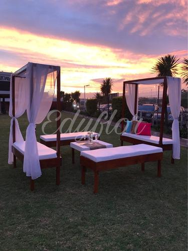 --edyflor-- Alquiler De Living, Mesas Altas Y Gazebos
