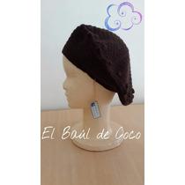 Boinas Tejidas Al Crochet