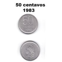 Moneda 50 Centavos De Pesos Argentinos 1983
