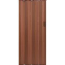 Puerta Plegadiza Pvc 8mm 74x200 Color Cedro