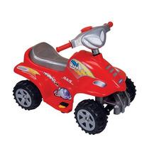 Moto Mini Quead Rojo Biemme Nenas Y Nenes 31196-r