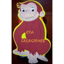 Piñatas Jorge El Curioso Todos Los Personajes En Goma Eva