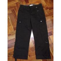 Pantalon Lee Tipo Cargo Marron