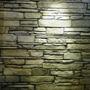 Placas Piedra Apilada Revestimiento Simil Piedra Poliuretano