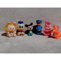 Lote De 6 Muñecos Con Chifle
