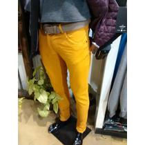 Pantalon Chupin Color Talle Especia 50-52-54 Elastizado