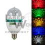 Lámpara Led Giratoria (1 Color Fijo), Bola Mágica Luces, Luz