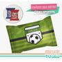 Fútbol - Envoltorio Alfajor Para Imprimir