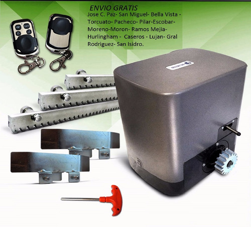 Motor electrico para porton corredizo industrial en venta for Motor porton electrico