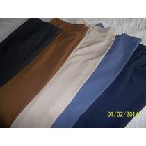 Pantalones De Señora Talles Grandes/ Sin Uso