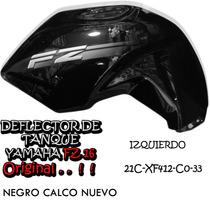 Cacha Tanque Nafta Yamaha Fz16 12/13 Izq Original Fas Motos