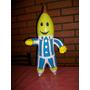 Inflable Motivo Bananas En Piyamas Con Chifle