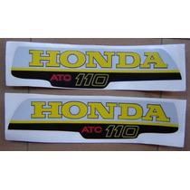 Calcos De Tanque Para Triciclo Atc 110 Honda