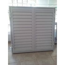 Postigon De Aluminio 120x110 2 Hojas