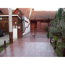Alquiler San Bernardo Casa Duplex 6 P /fondo/parque/parrilla