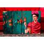 Set Mural De Cuadros Modernos Frida Kahlo Con Mariposas