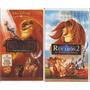El Rey Leon 1, 2, 3 El Reino De Simba Walt Disney 3 Vhs