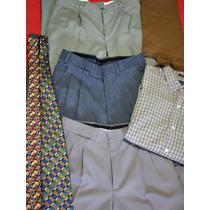 Espectacular Lote Masculino Ysl Soho Pantalones Cintos Giess