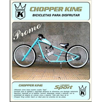 Bicimoto Chopper King London Sport Promocional