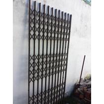 Antigua Puerta De Ascesor Tijera ( Necesitan Limpieza )
