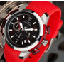 Reloj Detomaso Alessio Red Chrono Profesional Quartz Watch
