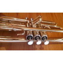 Trompeta Knight Jbtr A Reparar O Cambiar Pulsador + Estuche