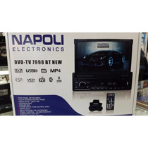 Stereo Napoli Dvd Tv-7998 Con Bluethoot Usb Sd!!!