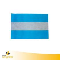 Bandera De Argentina - Fiselina En Lamina X 50