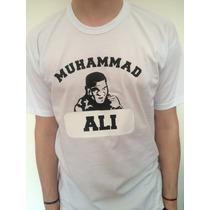 Buzos Y Remeras Muhammad Ali Boxeador ! En Vinilo!