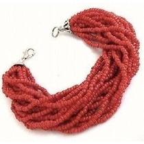Pulsera Color Coral.
