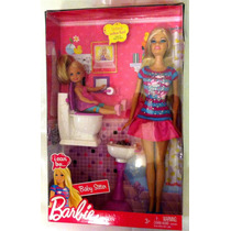 Barbie I Can Be... Babysitter Original De Mattel