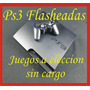 Ps3 120gb Flashada Regalos A Eleccion - Discos Externos