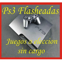 Ps3 120gb Flashada Regalos A Eleccion - Discos Externos