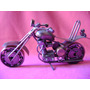 Moto Chopera Artesanal 20 Cm X 10 Cm