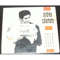 Andres Calamaro - Nadie Sale Vivo - Cd Ed. 1989 Sony!