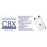 CBX Calentador de agua eléctrico