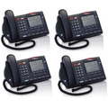 Lote De 4 Telefonos Nortel Meridian M3904 - Negro -dde $1