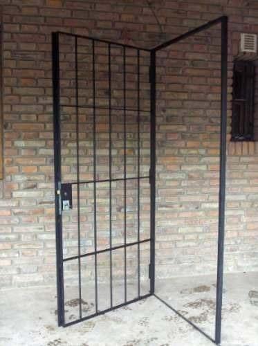 Puerta de reja super segura herreria siran de lanus rejas - Puertas de reja ...