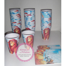 Vasos Artesanales Descartables Para Cumples, Minnie, Cars,
