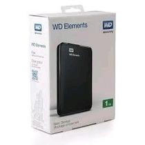 Disco Portatil Wd Elements Externo 1tb Usb 3.0 Insumoft