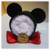 Mickey De Toalla Minnie Souvenir Bautismo Baby Shower