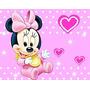 Kit Imprimible Candy Bar Minnie Bebe Todas Las Golosinas 2x1