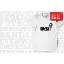 Remera Helado Oscuro - Star Wars Remeras Graciosas