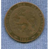 Holanda 1 Cent 1901 * Reinado De Wilhelmina I *