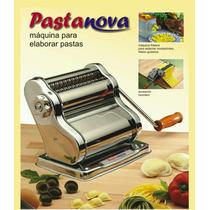 Fábrica Pastas + Raviolera Acero Inoxidable Grande Pastanova