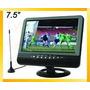 Tv Portatil 7,5 (pulgadas) Pal/ntsc/secam - Usb /sd/mmc