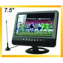 Reproductor De Video Portatil Tv 7,5 Pal/ntsc/secam Usb /sd