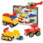 Blocky 3 Vehiculos Con Guia De Armado 200 Piezas
