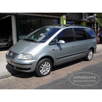 Volkswagen Sharan 2004 1.8 Turbo Gris 3